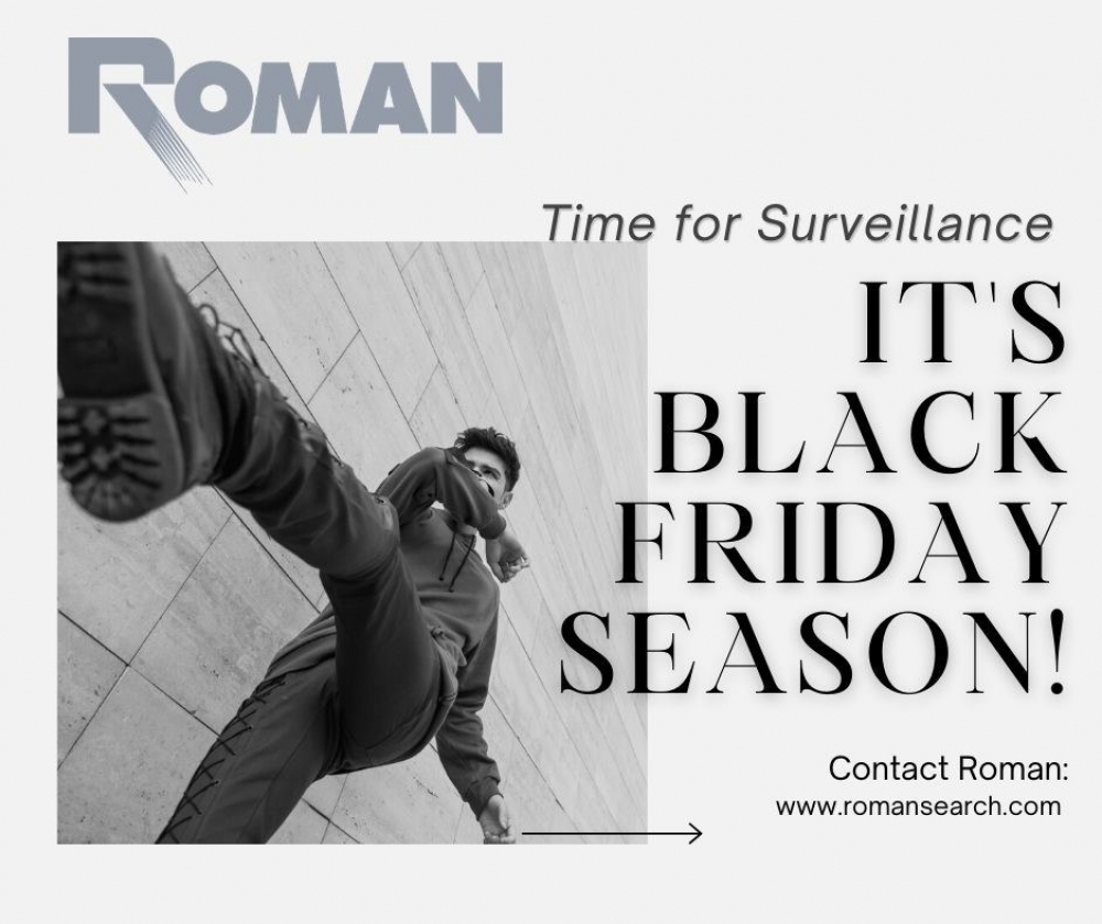 Surveillance Black Friday Season